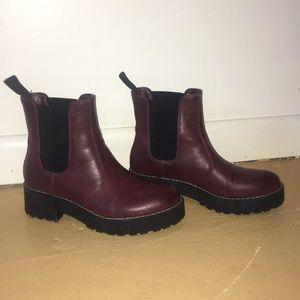 Dirty Laundry platform boots. Worn twice.